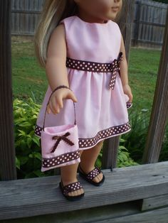 18 doll clothes american girl or bitty baby by sassydollcreations