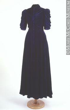 Evening dress Marie Paule 1937, 20th century