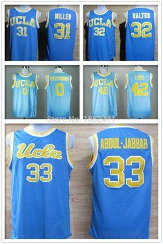 ce9c100bbc6a Aliexpress.com   Buy UCLA Bruins jersey  33 Kareem Abdul Jabbar basketball  jersey 42 Kevin Love 31 Miller 32 Bill Walton 0 Russell Westbrook Jersey  from ...