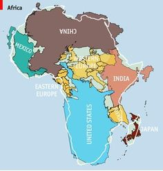 The real size of Africa