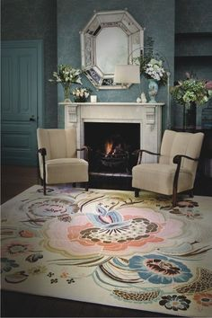 Catherine Martin is totally amazing!!  (Garden Party - Rug Collections - Designer Rugs - Premium Handmade rugs by Australia's leading rug company)