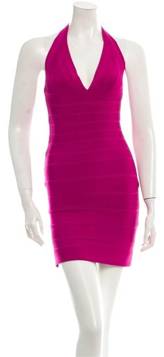 "Herv Leger Dress. The Herv Leger Dress was voted a ""Top 10 Favorite"" by Tradesy Members. Get it now and save"
