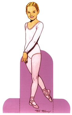 """""""Ballet Princesses Paper Doll"""" by Tom Tierney; Dover Publications (p.ii)"""