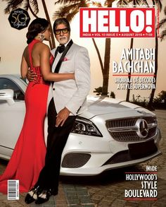 Amitabh Bachchan on cover of HELLO Magazine. SPF