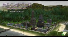 adinc-sims:     [HOOD DECOR]MEGAPOLIS  Читать... / sims cc finds