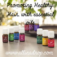 Promoting healthy hair with essential oils. What oils are best for the different hair types? How to make it grow quicker? Diy leave-in conditioner