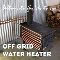 Yes, you can have hot water off grid! My guide goes over all the different DIY and modern techniques to build an off grid water heater. Off Grid Survival, Survival Shelter, Survival Life, Homestead Survival, Wilderness Survival, Camping Survival, Outdoor Survival, Survival Prepping, Survival Skills