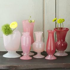 Setting the Table Valentine's Day: vases from Terrain