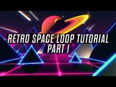 (6) Looped Retro Space Scene Tutorial - Part 1- Making The Elements - YouTube