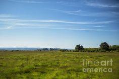 Fields and Barn, No. 2 by Belinda Greb #landscapephotography #photography
