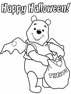disney coloring pages coloring pages pinterest halloween coloring and free printable - Halloween Coloring Pages Disney