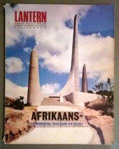 38 Jaar oud . Lantern Tydskrif Vir Kennis en Kultuur. 1975. Afrikaans - Sy wording,Wasdom en Bloei. Afrikaans, Genealogy, Lanterns, Lamps, Lantern, Light Posts