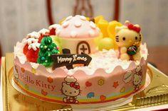 Hello kitty cake.(:
