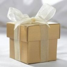 Gold Favour Box with Lid on www.thelastdetail.co.uk currently £0.38 usually £0.52