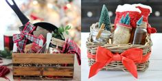 Gifts For Her – How to Really Impress Women on Any Budget – Gift Ideas Anywhere Diy Gift Baskets, Christmas Gift Baskets, Homemade Christmas Gifts, Homemade Gifts, Christmas Crafts, Raffle Baskets, Baby Shower Gifts, Baby Gifts, Garden Gifts