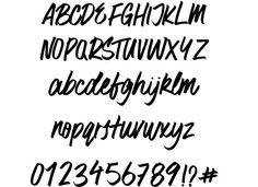 Surfer Bay font by Zansari  http://www.fontriver.com/font/surfer_bay/  #script #fonts #type #typography #ttf #design #webdesign #brush #font #typeface #lettering