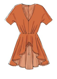 Fashion Design Sketches 581879214331865913 - Loose-fitting, partially lined tops with front pleats Source by Dress Design Sketches, Fashion Design Drawings, Fashion Illustration Sketches, Fashion Sketches, Fashion Drawing Dresses, Fashion Dresses, Fashion Design Template, Dress Drawing, Kind Mode