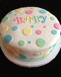 Easy Baby Shower Cak