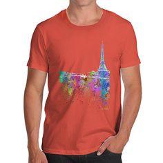 Paris Skyline Ink...  http://twistedenvy.com/products/paris-skyline-ink-splats-mens-t-shirt?utm_campaign=social_autopilot&utm_source=pin&utm_medium=pin   Shop for Amazing Art  Show your Creative side.  #Twistedenvy
