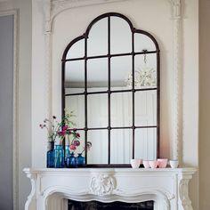 idea para  una puerta de vidrios repartidos