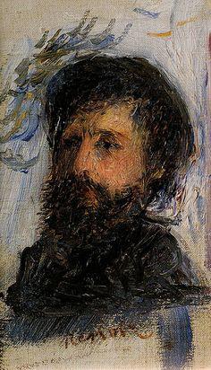 Portrait de C Monet (P Renoir)