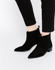 ASOS RIGHT ABOUT NOW Western Pointed Chelsea Ankle Boots | Shoe Covet |  Pinterest | Chelsea ankle boots