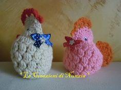 Handmade egg cosy egg warmer crochet easter chicken chicks hen video tutorial come realizzare una gallinella a uncinetto youtube negle Gallery