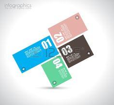 Modelo de design Infogr Banco de Imagens
