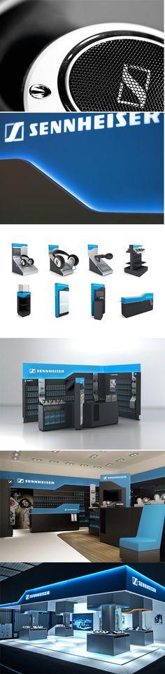 Sennheiser_Shop Design_by SYNDICATE DESIGN AG #brand #corporate #design #syndicate
