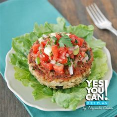 Lemon Pepper Tune with Yummy Salsa - A healthy option for your Yes You Can! Diet Plan snack