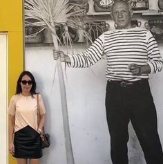 Actually Wei is looking way more stylish then Picasso!! Thanks for choosing  bi-color leather dress BETH by LIKOV! What Is Miss, Online Shopping For Women, Picasso, Elegant, Stylish, Leather, How To Wear, Stuff To Buy, Color