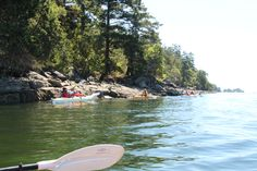 Kayaking with Island Escapades in Ganges Harbour. I went to this camp! It's amazing! It's Amazing, Playground, Kayaking, Family Travel, Salt, Camping, Island, Adventure, Spring