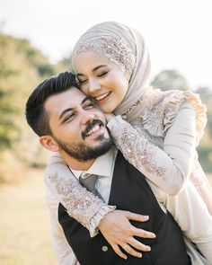 Image may contain: one or more people, beard, closeup and outdoor coupl… – Harika El işleri-Hobiler Wedding Couple Poses Photography, Bridal Photography, Wedding Poses, Wedding Photoshoot, Wedding Couples, Wedding Ideas, Muslim Wedding Dresses, Disney Wedding Dresses, Muslim Brides