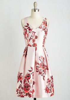 Rosal Proposal Dress. Prepare for a perfect evening by donning this exquisite fit and flare frock. #multi #prom #wedding #bridesmaid #modcloth