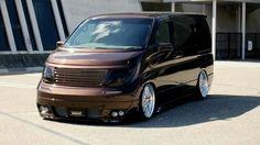 Nissan Elgrand E51 Nissan Vans, Nissan Elgrand, Nissan Infiniti, L Car, Nissan Quest, 4x4 Van, Vanz, Cool Vans, Party Bus