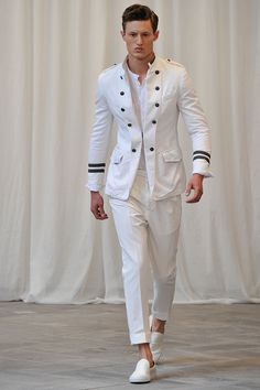 #messagerie ss15 men collection White suit