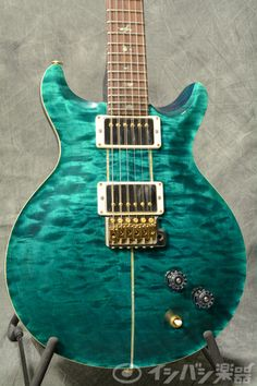 Paul Reed Smith (PRS) / Wood Library Santana 10Top Quilt Turquoise/Brazilian Rosewood FB 【S/N:14 210956】【梅田店】 | イシバシ楽器店