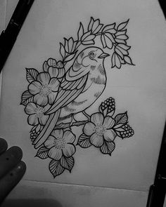 lil bird design for this week hopefully 😇 Art Drawings Sketches Simple, Bird Drawings, Pencil Art Drawings, Easy Drawings, Sketch Drawing, Painting Patterns, Fabric Painting, Fabric Art, Fabric Paint Shirt