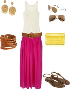 Breezy Summer, created by christyrichards on Polyvore