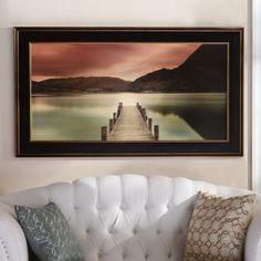 Ullswater Framed Print | Kirklands  Idea for across from my bed.