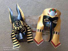 Anubis and Thoth by b3designsllc.deviantart.com on @DeviantArt