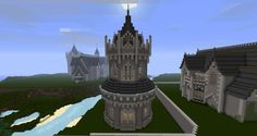 Kings Crossing Tower Minecraft Project