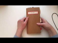 (59) Vintage Office themed Junk Journal - YouTube