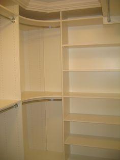 Walk-in Closet - traditional - closet - toronto - Toronto Custom Concepts