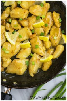 Chinese Lemon Chicken Recipe (Asian Lemon Chicken) 6