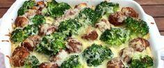 Tagliattele s masovými kuličkami a brokolicí Sprouts, Broccoli, Vegetables, Party, Food, Essen, Vegetable Recipes, Parties, Meals