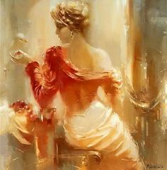 by Roman Garassuta russian painter artist that seamlessly combines realism, abstraction and romanticism