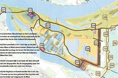 Zwerfroutekaart 8, 10, 12 km - Het Linieland van de Bommelerwaard - Bommelerwaardgids