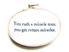 The Princess Bride Embroidery Hoop  Philosophical by OooohStitchy, $26.00