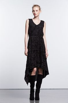 0550b5ea122b Women s Simply Vera Vera Wang Simply Noir Velvet A-Line Dress